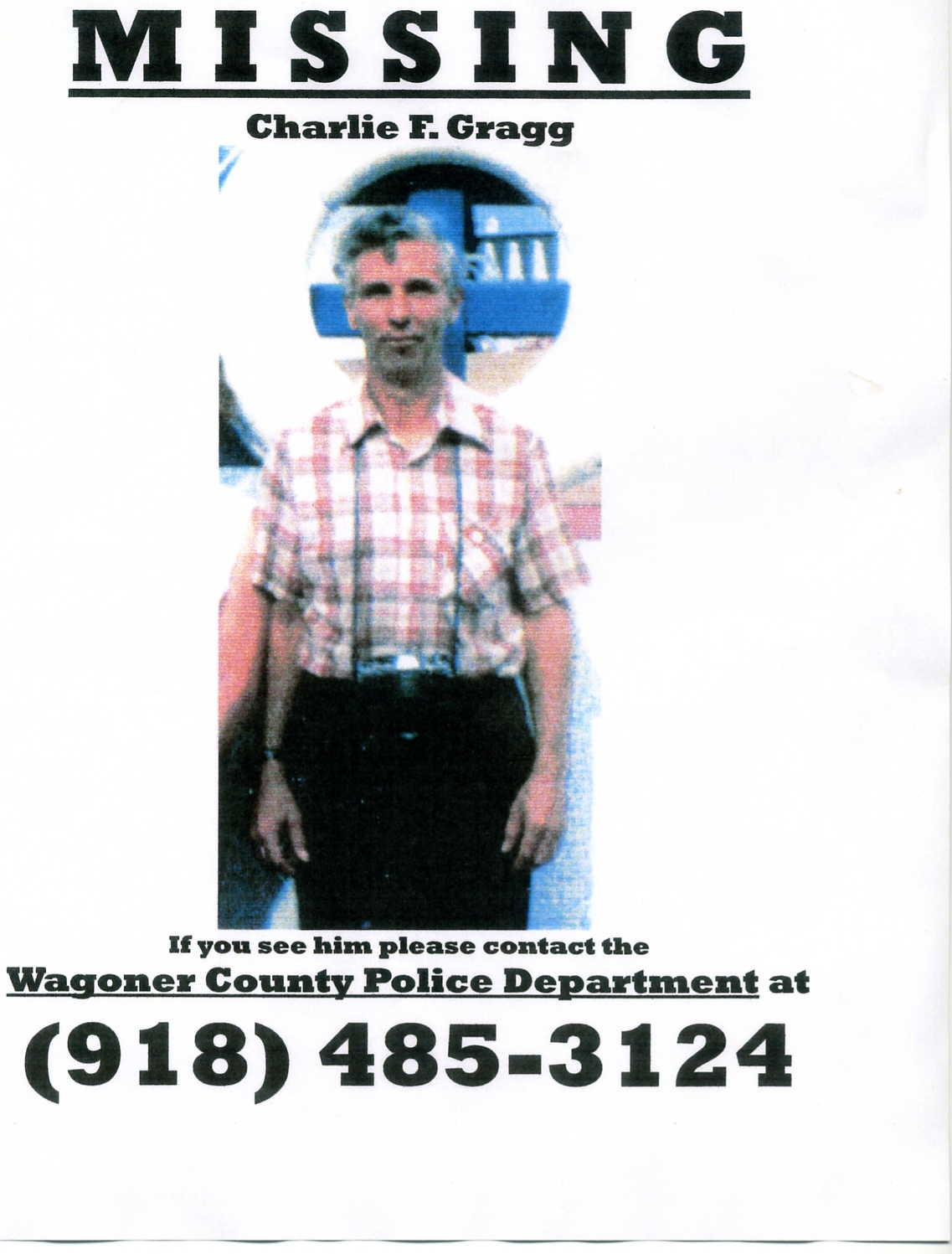 Oklahoma Missing People - Missing Persons in Oklahoma