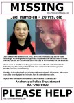 Jael Hamblen Missing – Anchorage