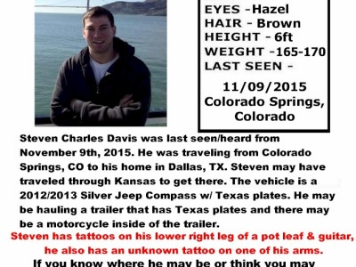 Steven Davis – Colorado Springs, CO