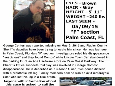 George Contos – Palm Coast, Fl