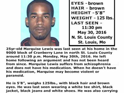 Marquise Lewis – St. Louis, Mo