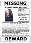 Ernest Leon Warren – Luray, Sc